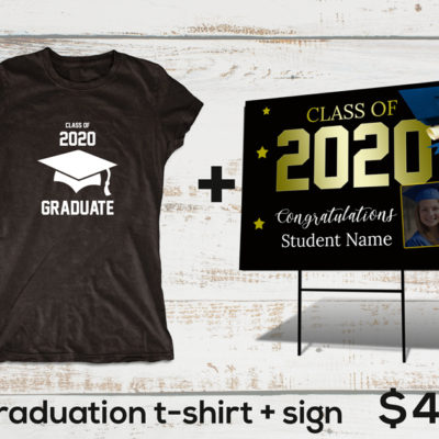 Personalized Graduation sign