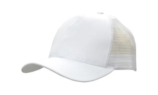 Breathable Poly Twill With Mesh Back