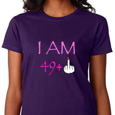 + 1 –  T-shirt