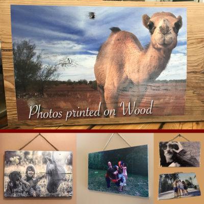 Photo printed on wood – 14×10