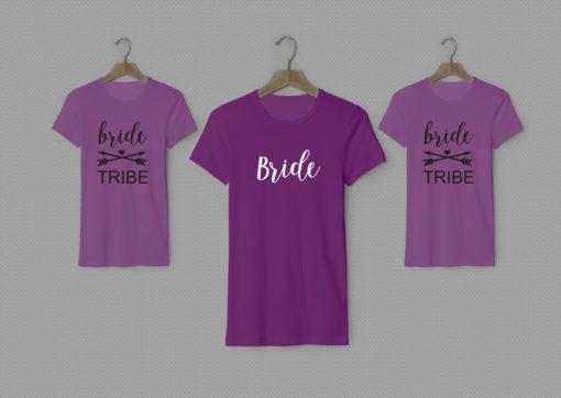 Bridemaids t-shirts (Bride Tribe)