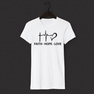 Faith – Hope – Love – T-shirt