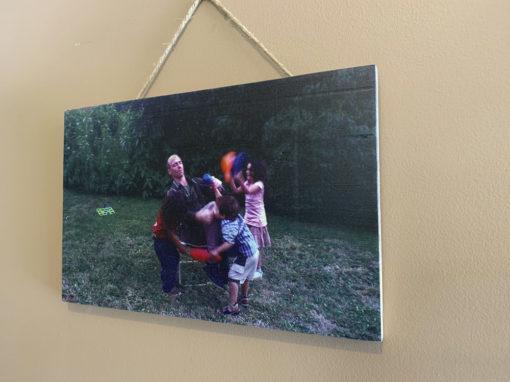 Photo printed on wood – 6×4