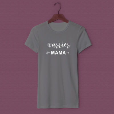 Warrior mama t-shirt