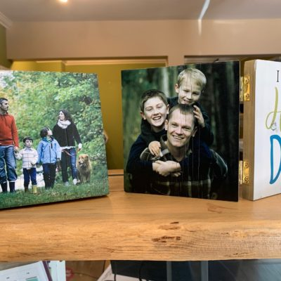 Personalized Family Hinged Wood Photos