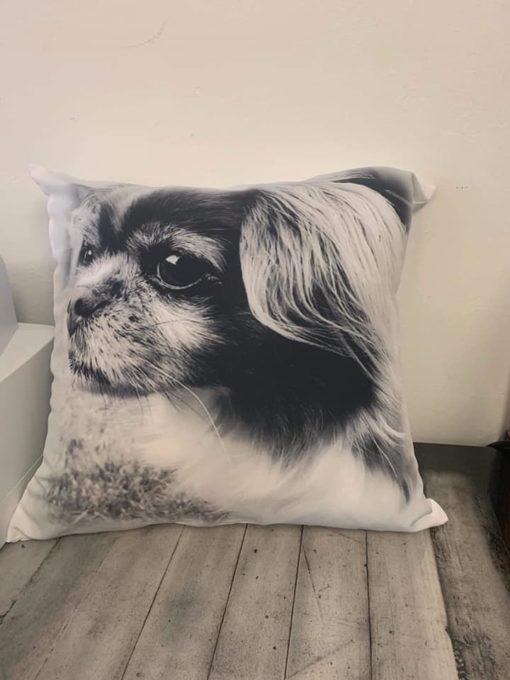 Photo pillow cover / full pillow