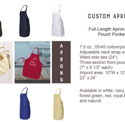 Authentic Cuisine Aprons