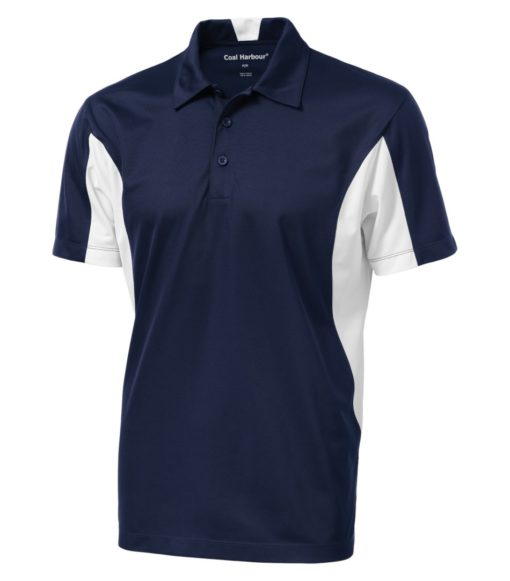 Polo shirt with logo embroidered – COAL HARBOUR® Snag resistant sport shirt – Golf shirt