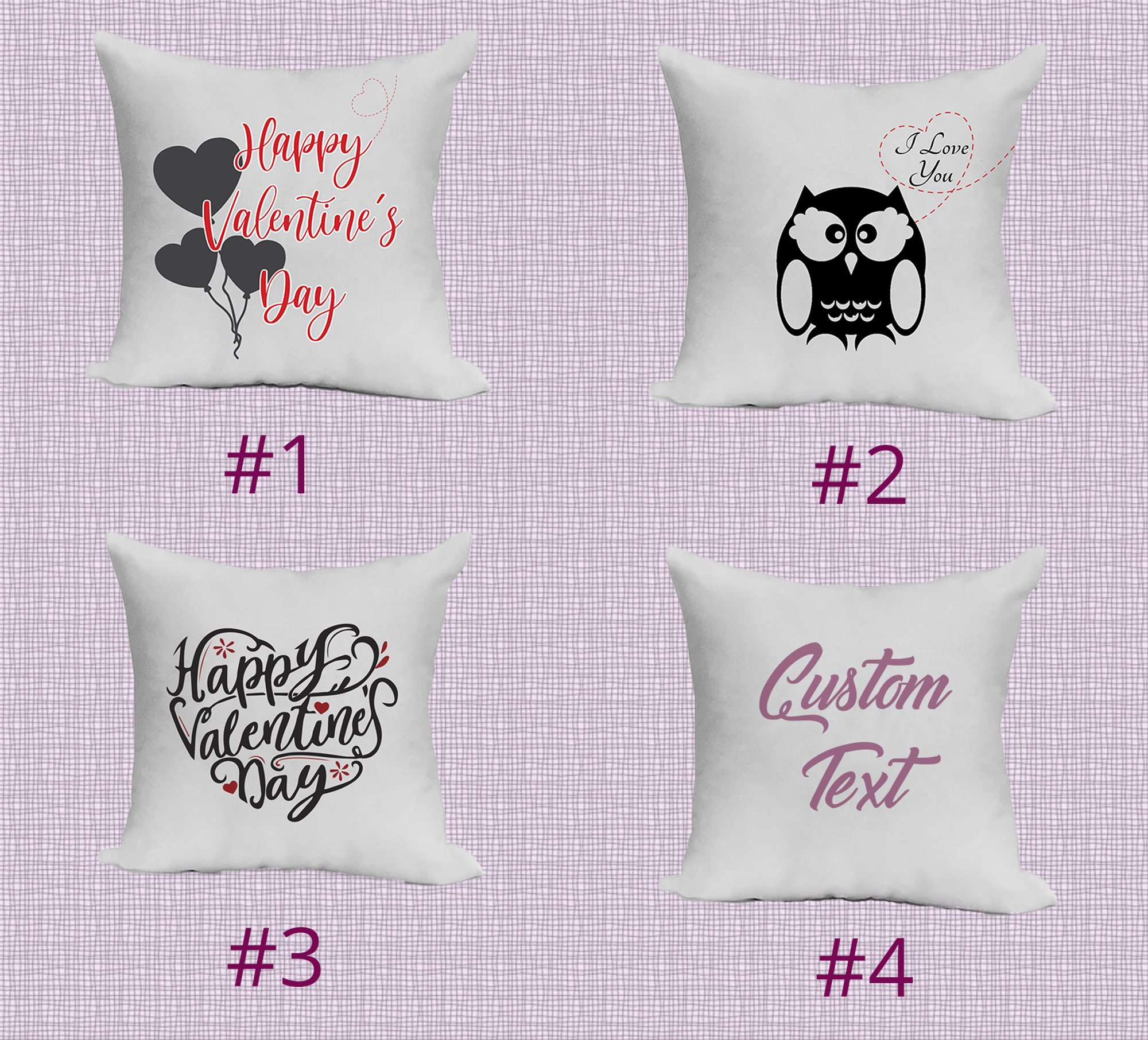 Valentine's Day Pillow – Pillow Case